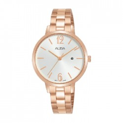Alba 32mm Analog Ladies Metal Fashion Watch (AH7U04X1)