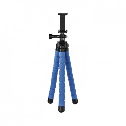 Hama Flex Tripod for Smartphone and GoPro - Blue