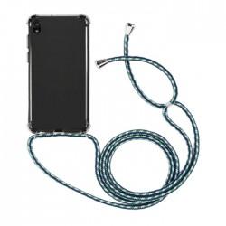 EQ Necklace String Huawei Y5 2019 Case - Green Strap
