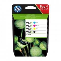 HP 963XL 4-pack Original Ink Cartridge | xcite kuwait