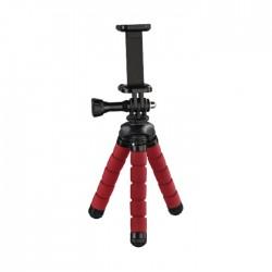 Hama Flex Mini Tripod for Smartphone and GoPro - Red