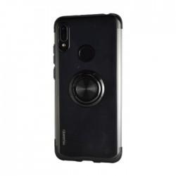 EQ Mirror Ring Huawei Y6 2019 Cover - Black
