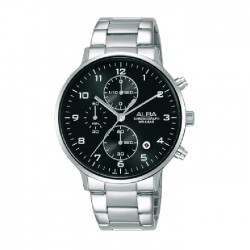 Alba 40mm Chronograph Gents Metal Casual Watch (AM3683X1)