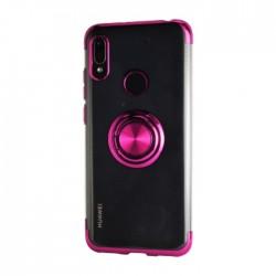 EQ Mirror Ring Huawei Y6 2019 Cover - Purple