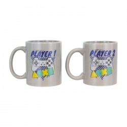 Paladone Player1 & Player2 Mug Set Price in Kuwait | Buy Online – Xcite