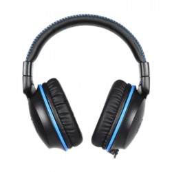 Sades F-Power Wired Gamind Headset - Black/Blue (SA-717)