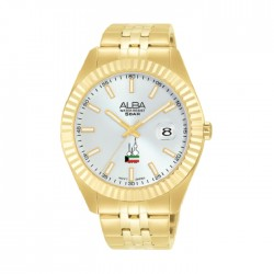 Alba 44mm Analog Unisex Metal Fashion Watch (AS9K66X1 )