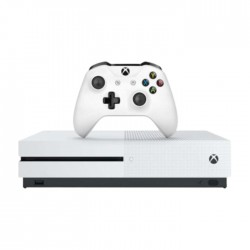 Microsoft Xbox One S 1TB Console – White (PAL)