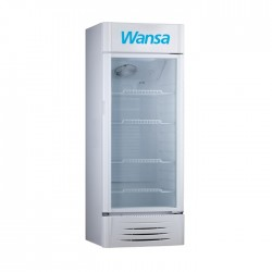 Wansa 14.5 CFT Single Door Beverage Refrigerator - (WUSC-411-NFWTC62)