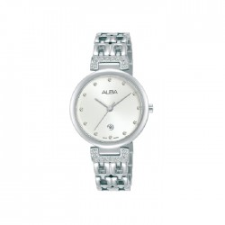 Alba 30mm Analog Ladies Metal Fashion Watch (AH7U93X1)
