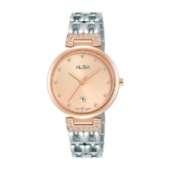 Alba 30mm Analog Ladies Metal Fashion Watch (AH7U88X1)