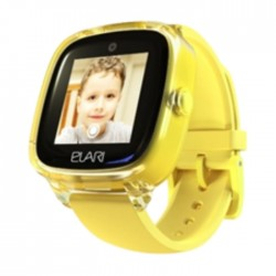 Elari KidPhone 4 Fresh Yellow Smart Watch Price in Kuwait | Buy Online – Xcite