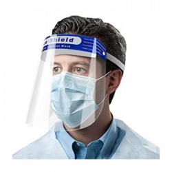 Safety Face Shield Full Protection Cap
