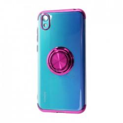 EQ Mirror Ring Huawei Y5 2019 Cover - Purple