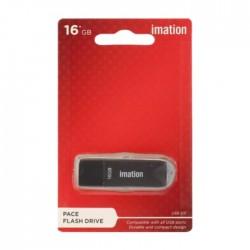 Imation Pace 16GB USB Flash Drive - Black (77000002023)