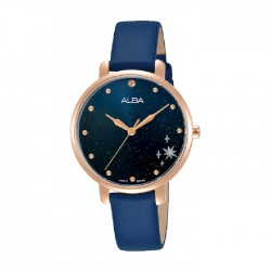 Alba 32mm Analog Ladies Leather Fashion Watch (AH8698X1)
