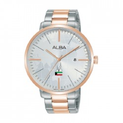 Alba 42mm Analog Unisex Metal Fashion Watch (AS9K64X1)
