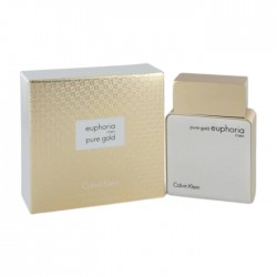 Euphoria Pure Gold by Calvin Klein for Men 100 ML. Eau de Parfum Price in Kuwait | Buy Online – Xcite