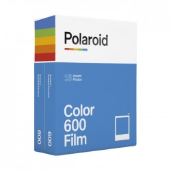 Polaroid Color 600 Instant Film (Double Pack, 16 Exposures)
