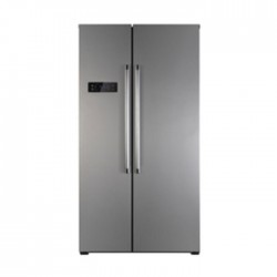 Buy Wansa 20 CFT Side by Side Refrigerator - Grey (WRSG-563-NFIC82) online at the best price in Kuwait. Shop Online and get new refrigerator with free shipping from Xcite Kuwait.