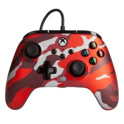 PowerA Enhanced Xbox Series X|S Wired Controller Metallic Camo Red in Kuwait | Buy Online – Xcite