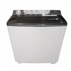 Panasonic 15kg Twin Tub Washing Machine (NA-W1500TBRU) - White