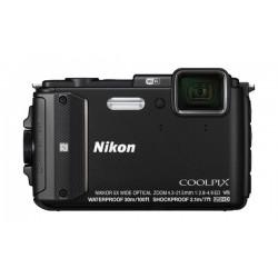 Nikon CoolPix AW130 16MP Waterproof Digital Camera - Black