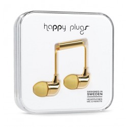Happy Plugs In Ear Earphone – Gold
