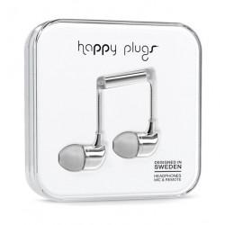 Happy Plugs In Ear Earphone – Silver