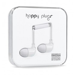 Happy Plugs In Ear Earphone – White