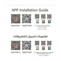 Huawei App Installation Card