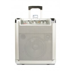 Ion Block Rocker Bluetooth iPA56D Portable Wireless Speaker with High-Quality Sound - White