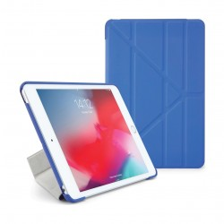 Pipetto Origami Folding Case and Stand for Apple iPad Mini 5 2019 - Blue