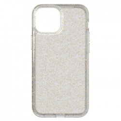 tech21 iphone 13 pro clear cover case gold buy in xcite KSA