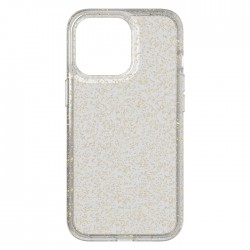 tech21 iphone 13 pro GOLD clear cover case cheap buy in xcite KSA