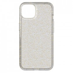 tech21 iphone 13 pro clear gold sparkle cover case buy in xcite KSA