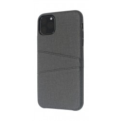 EQ iPhone 11 Pro Max Blank Pocket Back Case - Black