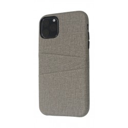 EQ iPhone 11 Pro Max Blank Pocket Back Case - Grey