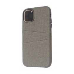 EQ iPhone 11 Pro Blank Pocket Back Case - Grey