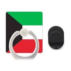 iRing Universal Masstige Ring Holder with iRing Hook/Cradle Mount (Premium Kuwait Flag Package)