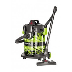 Bissell premium powerclean 23 liter wet & dry vacuum cleaner (20261) - Green