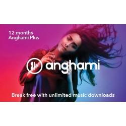 Anghami 12 Months Voucher