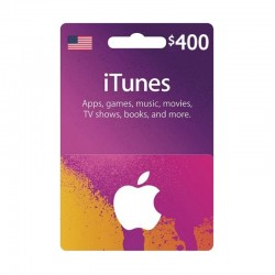 Apple iTunes Gift Card $400 (U.S. Account)