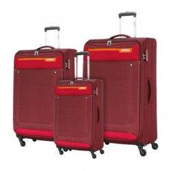 American Tourister Jackson Spinner Soft Luggage Red Set in Kuwait | Buy Online – Xcite