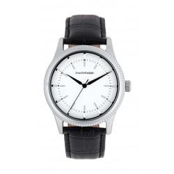 Jean Bellecour 42mm Quartz Analog Gent's Leather Watch - JB1052