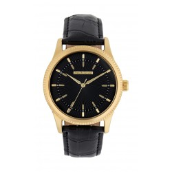 Jean Bellecour 42mm Quartz Analog Gent's Leather Watch - JB1053