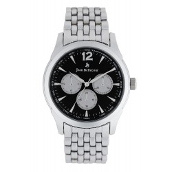 Jean Bellecour 42mm Quartz Analog Gent's Metal Watch - JB1061
