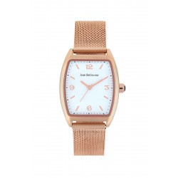 Jean Bellecour 32mm Analog Metal Watch (JB1085) - Rose-Gold