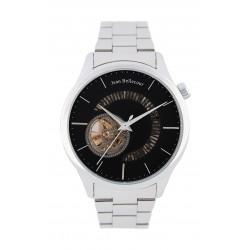 Jean Bellecour 45mm Open Hart Analog Gent's Metal Watch - JB1112