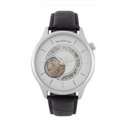 Jean Bellecour 45mm Open Hart Analog Gent's Leather Watch - JB1114